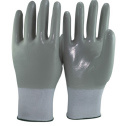 15 Gauge Nylon and Spandex Liner Full Nitrile Coated Gloves