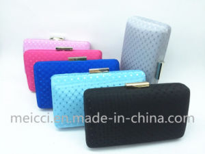 Six Color Silk Clutch Bag, Party Evening Bags pictures & photos