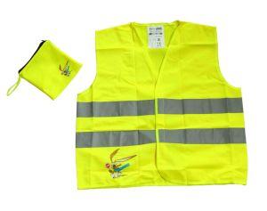 Put Into a Pocket Reiception Reflective Work Vest pictures & photos