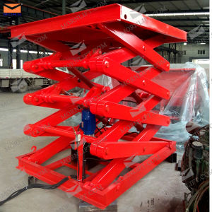 Scissor Platform Lift Loading 2500kg Travel 3.7m pictures & photos