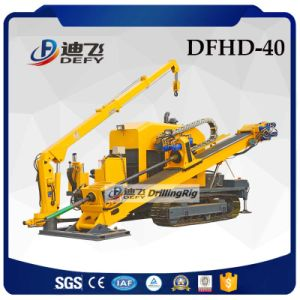 Dfhd-40 400kn Horizontal Directional Drilling Machine for Sale pictures & photos