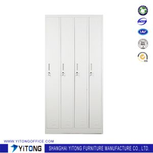Yitong Vertical 4-Door Metal Storage Cabinet / Office Use Steel Locker pictures & photos