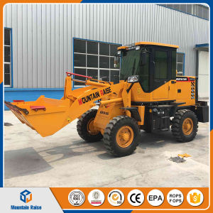 Earthmoving 1 Ton Compact Wheel Loader Small Payloader pictures & photos