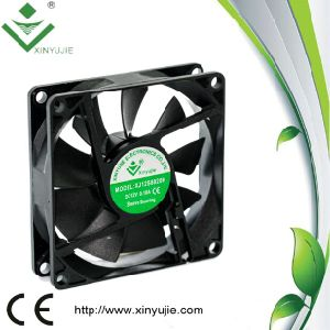 80*80*20 mm DC Cooling Fan Made in China 2016 Hot Selling Plastic Fan pictures & photos