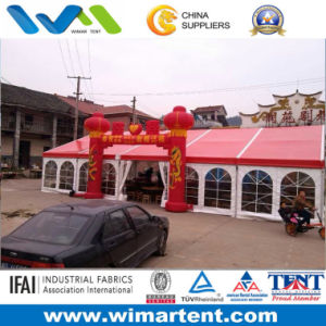 10m New Design Red Wedding Party Tent for Sale pictures & photos
