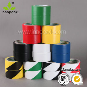 Floor Warning Plastic PVC Tape Hazard Stripe/Degradable Caution Tape pictures & photos
