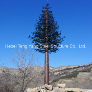 Disguised Hot Galvanizing GSM Telecom Antenna Pole Tree Tower pictures & photos