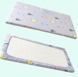 100% Cotton Muslin Fabric Baby Bedding Sheet