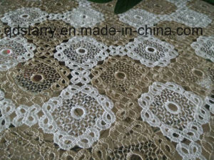 St183 Full Lace Tablecloth pictures & photos