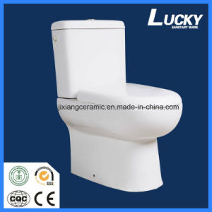 Ceramic Two-Piece Toilet S-Trap/P-Trap with Sasao/Ce pictures & photos