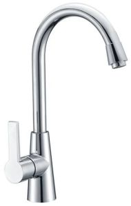 Wholesale Price Sanitary Ware Chrome Plated Kitchen Faucet (2027) pictures & photos