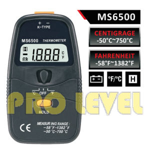 Professional and Accurate Digital Thermometer (MS6500) pictures & photos