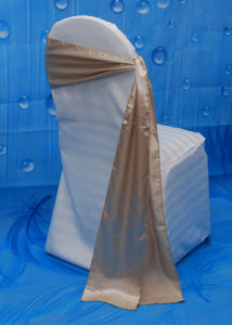 Plain Decorative Chair Cover Sash for Wedding pictures & photos