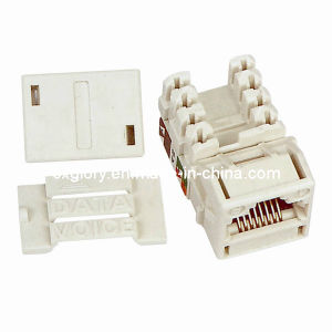 Systimax UTP Cat. 5e RJ45 Keystone Jack pictures & photos