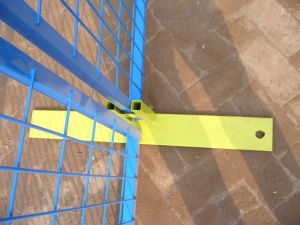 """6foot X 10foot Temporary Construction Fencing Panels Square Pipes 1"""" X 1"""" Mesh 50mm X100mm pictures & photos"""