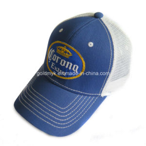 Cotton Front Mesh Hat with Logo Embroidery pictures & photos