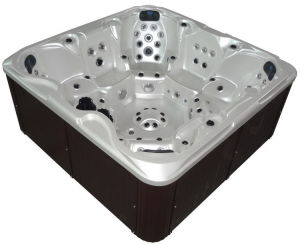 Family Hydro Arylic Outdoor Jacuzzi SPA Sanitary Ware pictures & photos