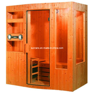 Hot Sale Outdoor Health Wood Sauna House, Sauna House (SR111) pictures & photos