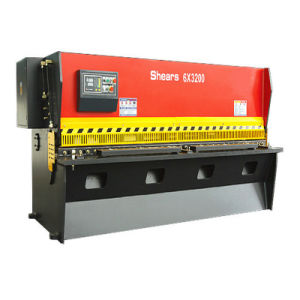 QC11k 6*3200 Hydraulic Guillotine Shearing Machine pictures & photos