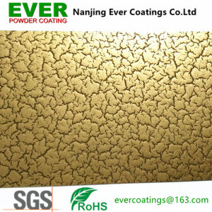 Cracking Gold Powder Coating Powder Paint pictures & photos