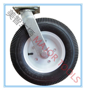 16 Inch Pneumatic Rubber Tyre Caster Wheel pictures & photos