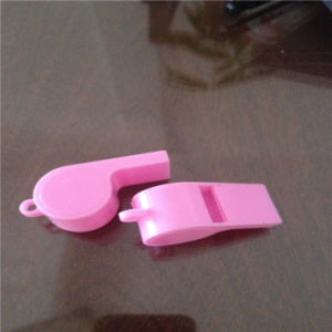 Cheap Promotional Gifts Customized Wholesale Pink Plastic Whistle pictures & photos