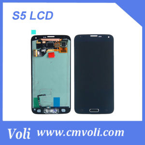 Color Black for Galaxy S5 LCD with Good Price pictures & photos
