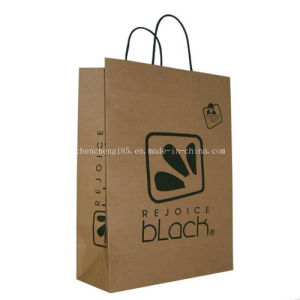 Custom Kraft Paper Bag /Shopping Paper Bag Fk-169 pictures & photos