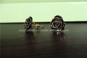 Black Earrings for Personality Girls (EH087)