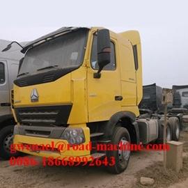 Sinotruck HOWO A7 10 Wheels 6X4 Tractor Truck/ Tractor Head/ Truck Head/ Horse/ Prime Mover, 420HP, Rhd/LHD, Euro II
