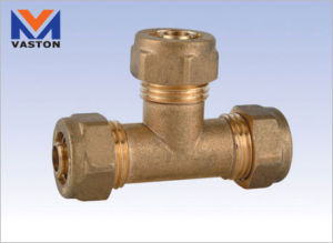 Compression Fitting Tee Equal, 15-32mm (VT-6821) pictures & photos