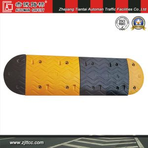 500 X 425 X 70mm Reflective Traffic Safety Industrial Rubber Hump (CC-B05) pictures & photos