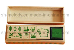 DIY decoration Craft Garden Wooden Stamp Kit /Rubber Stamps pictures & photos