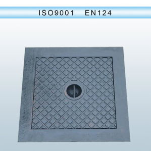 Anti-Theft Ductile Iron Manhole Covers with Locks En124 pictures & photos