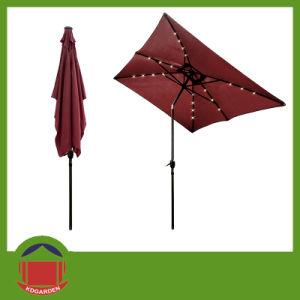 Outdoor Sunshade Crank Winding Garden Umbrella Parasol pictures & photos