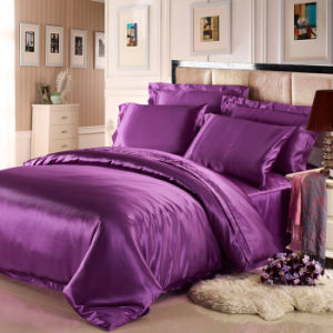 2015 Hot Selling 100% Mulberry Silk Bed Sheet pictures & photos