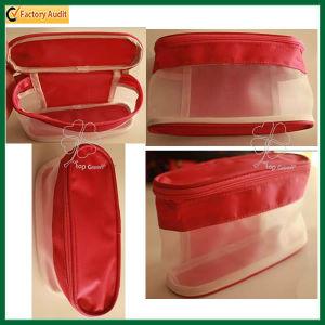 Wholesale Clear Zipper Mesh Cosmetic Bag (TP-COB003) pictures & photos