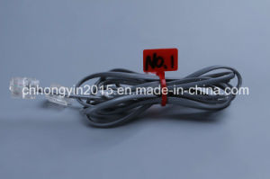 Hys-4*150 Brand Plate Type Nylon Cable Ties pictures & photos
