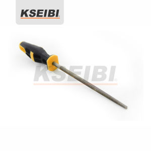Hand Tools Steel Round Hand Files with Handle pictures & photos