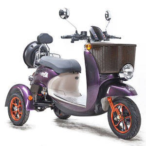 Three Wheel Electric Lady Shopping Trike Tricycle 800SL-3