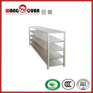 Chinese Factory 5 Tier Upright Stainless Steel Shelf/Rack pictures & photos