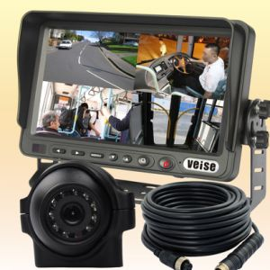 Quad Monitor Rear View System for Truck (DF-73705101) pictures & photos