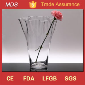 Tall Wedding Clear Modern Lalique Glass Vase for Sale pictures & photos