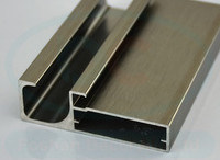 Kitchen Extruded Aluminium Profile for Door Powder Coating pictures & photos