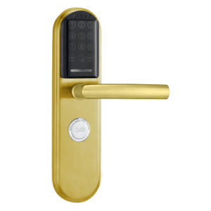 Satin Stainless Steel Electronic Digital IC Card Password Door Lock (SUS304) pictures & photos