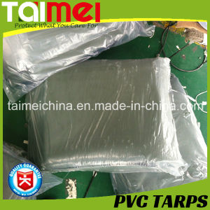 Orange/Green PVC Waterproof Tarpaulin/Tarps for Truck/Car/Boat Cover pictures & photos