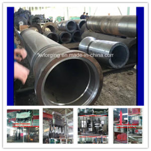 Hammer Forging Pipe Hot Forged Cylindrical Mold ISO9001 Factory pictures & photos