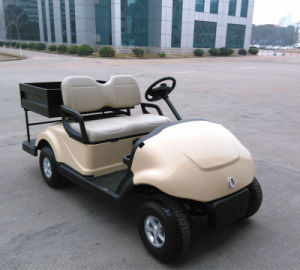Multi-Utility Vehicle Dongfeng Electric Golf Cart with Cargo Box for 2 Person on Sale pictures & photos