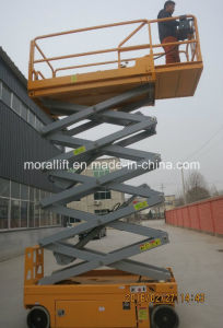 Aerial Working Mobile Scissor Lift Table With Battery Powered pictures & photos