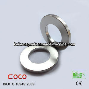 Strong N52 Neodymium Magnet NdFeB Ring Magnet Free Energy pictures & photos